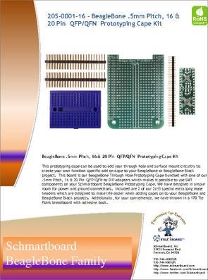 205-0001-16 datasheet - Specifications: Manufacturer: SchmartBoard