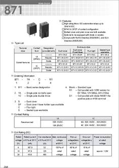 871 1C C R1 U01 12VDC 871 1c c r1 u01 12vdc datasheet specifications manufacturer R6r Wiring Diagram at honlapkeszites.co