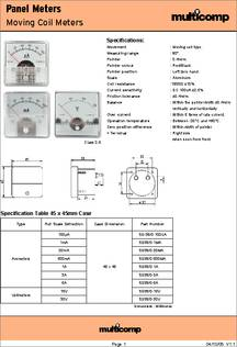 MULTICOMP MCV241K05DS VARISTOR 5mm DISC 50 pieces 43