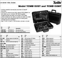 Tcmb150st Datasheet Specifications Kit Contents 46 Pcs