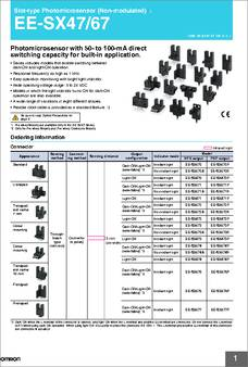 Ee Sx674 Datasheet Specifications No Of Channels
