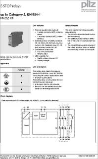 774 300 PNOZ X1 24V 774 300 pnoz x1 24v datasheet specifications coil voltage vac pilz pnoz x1 wiring diagram at bayanpartner.co