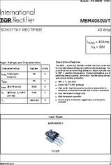 Other Integrated Circuits MBR4060 Power Schottky Barrier Rectifier ...