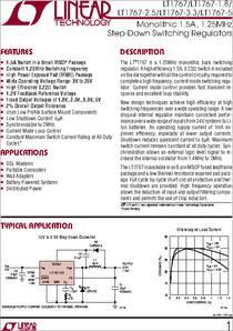 STEP-DOWN REGULATOR MSOP-8 LINEAR TECHNOLOGY LT1767EMS8E-3.3#PBF IC 1 piece