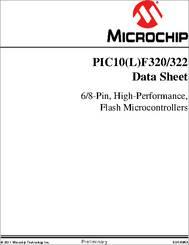 PIC10F320 datasheet - 8-bit PIC® Microcontrollers PIC10(L