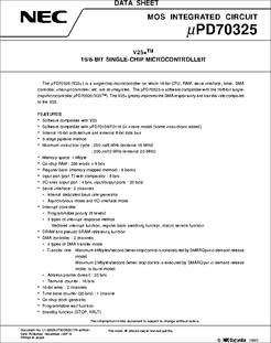Upd70320gj-8-5bg Processor