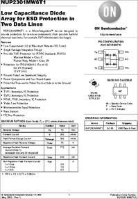Pack of 100 TVS DIODE SC74 NUP4301MR6T1G