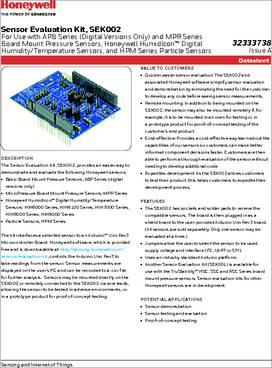 SEK002 datasheet - Specifications: Manufacturer : Honeywell