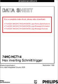 74HC-HCT14  Bit Priority Encoder Logic Diagram on encoder wiring-diagram, block diagram, encoder logic circuit,