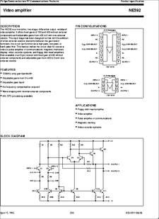 Ne592n14 Datasheet Download