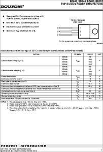 BD650 datasheet - PNP Silicon Power Darlingtons