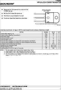 TIP3055 datasheet - NPN Silicon Power Transistor