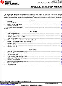 Ads54j66evm datasheet specifications manufacturer texas some sciox Images