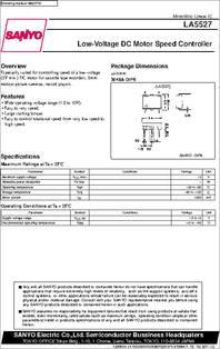 LA5531  SANYO INTEGRATED CIRCUIT DIP-8