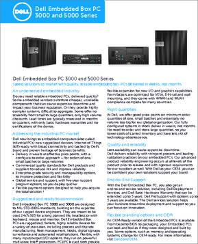 Dell embedded box pc 3000