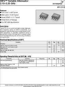 SKY13314-374LF Pack of 20 IC SWITCH SPDT 0.1-6.0GHZ 6-MLPD