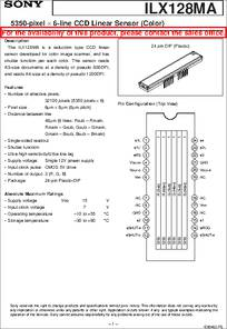 Ccd Module Datasheet