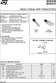 BC547C-AP Datasheet Transistor Pnp Npn on array ic, cct diagram amplifier constructed, presentation voltage using,