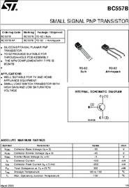 BC557B datasheet - Small Signal PNP Transistor