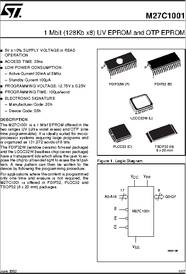 Details about  /25pcs M27C1001-20F1 IC 1Mbit 128Kb x8 UV EPROM and OTP EPROM ST DIP-32