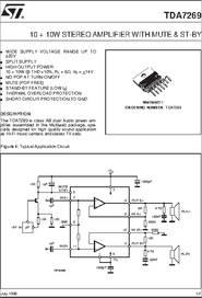 TDA7269 PDF