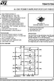 TDA7372A PDF