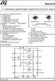 tda7383 4x35w quad bridge amplifier circuit diagram 7 13 gvapor nl \u2022