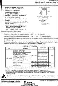 SC70-5 Qty.10 SN74LVC1G32DCKR Single 2-Input OR Gate
