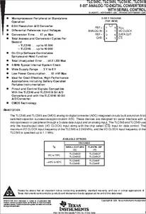 Tlc549ip ti analog ics | veswin electronics limited.
