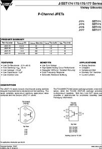 J174 mosfet datasheet pdf equivalent. Cross reference search.