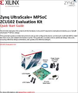 EK-U1-ZCU102-G datasheet -