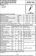 ZVP2110A Mosfet 5 X DIODI Inc. E-LINE P