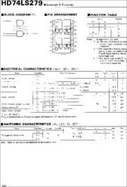 74LS279  INTEGRATED CIRCUIT