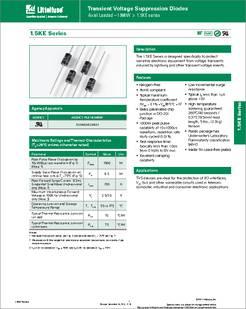 1.5KE Series 14.5 V 2 Pins TVS Diode Bidirectional Pack of 100 1.5KE10CA DO-201 8.55 V 1.5KE10CA