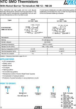 Thyristor Surge Protection Devices 6V 30A 2-Pin SMB P0080SB
