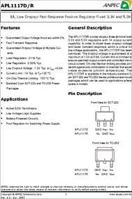 Apl1117 Datasheet Pdf