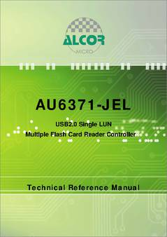 AU6371 CARD READER DRIVERS FOR WINDOWS XP