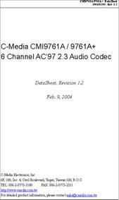 CMI 9761A AUDIO WINDOWS 10 DRIVERS DOWNLOAD