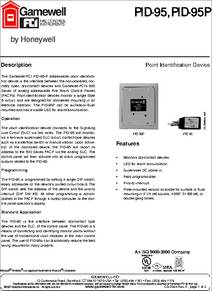 PID 95P pid 95p datasheet point identification device gamewell pid 95 wiring diagram at gsmportal.co