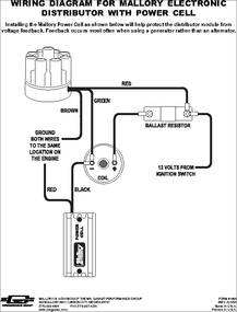 611M 611m datasheet electronic distributor with power cell mallory coil wiring diagram at bakdesigns.co