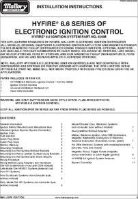 686M datasheet - Electronic Ignition Control on