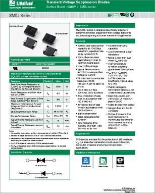 54V 3KW TVS DIODE SMDJ54CA DO-214AB BIDIR SMDJ54CA Pack of 5