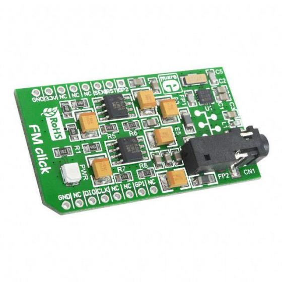 MIKROE-1431 Board Fm Click Tuner Add-on